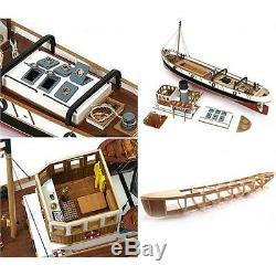 Occre Ulises Tug 130 Scale Model Rc Kit De Bateau En Bois Et Métal 61001