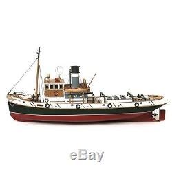 Occre Ulises Tug 130 Scale Model Rc Kit De Bateau En Bois Et Métal 61001 + Ensemble Moteur