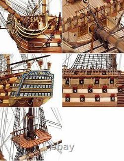 Occupe Santisima Trinidad 1er Bateau À Tarif De La Ligne 190 15800 Modèle Boat Kit