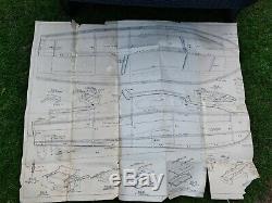 Partiellement Construit Commander Mer Modèle Rc Bateau Aerokits Avec Plans Et Moteur