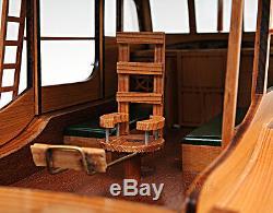 Pilar 28 Qualité Peint Pêche Modèle Bateau Ernest Hemingway 1934