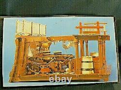 Posto DI Combattimento Model Banart Kit En Bois #740 Place De Combat Section Transversale