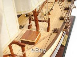 Privateer Tall Ship 34 De Lynx America 34 Construit À La Main En Bois Modèle De Bateau Assemblé