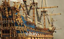 Pro Le Soleil Royal 1669 Modèle Navire Bateau Kit De Bricolage En Bois Pour Adultes 190 Échelle