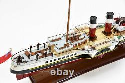 Ps Waverley Paddle Steamer Navire En Bois Fabriqué À La Main Modèle 31