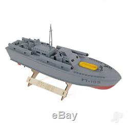 Pt-109 Patrol Torpedo Boat (410mm) Bois Rc Modèle Kit