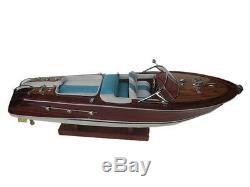 Qualité En Bois Speed boat 20 Bois Modèle Bateau L50 Main Vitesse Italienne Bateau