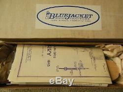 Rare Bluejacket Navire Modèle En Bois Kit Uss Perry, 10 Armes À Feu De Brigue 1843 Complet