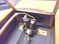 Rare Boucher Era Modèle En Bois Live Steam 2 Cylindres Bateau Étang Yacht, Withstand