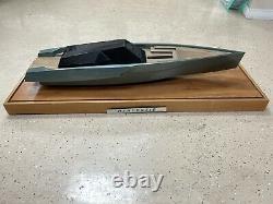 Rénovatio Miniature Modèle Réplique De L'île Wally Power 118 Yacht De Puissance