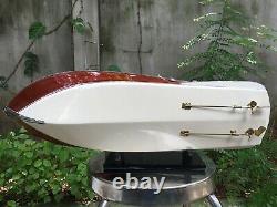 Riva Aquarama Speed Model Ship Boat Wood Wooden Italien Nautica Handmade 21