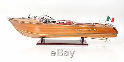 Riva Aquarama Speed boat 35 Exclusive Edition Bois Modèle Navire Assemblé