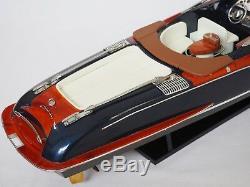 Riva Aquariva Boat 27 (68 Cm) En Bois Miniature