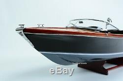 Riva Aquariva Classic Boat Modèle 36 Modèle En Bois Fait Main Bateau