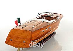 Riva Ariston Édition Exclusive Speed boat 35 Bois Modèle Navire Assemblé