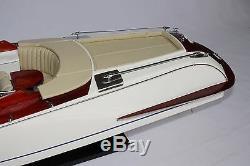 Riva Gucci Boat 27 (68cm) En Bois Modèle