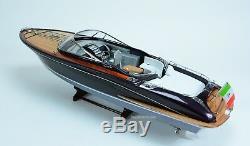 Riva Rama Classic Boat 35 Modèle De Bateau En Bois Fait À La Main