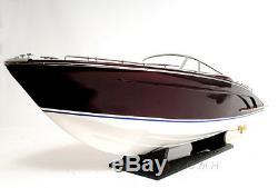 Riva Rivarama E. E. Speed boat 37' Bois Modèle Assemblé