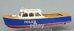 Rivière Police Modèle Lancement Kit Bateau En Bois Modèles Lesro Les Rowell