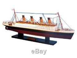 Rms Titanic 20 Bois Titanic Ship Model Handcrafted Modèle Bateau Titanic Mod
