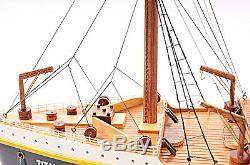 Rms Titanic Paquebot 40 Modèle Bateau De Croisière En Bateau En Bois Construit Assemblé