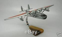 S42 Flying Boat Pan Am Sikorsky S42 Avion Bureau En Bois Modèle Big Nouveau