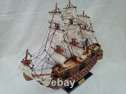 San Felipe 16 Quality English War Ship L50 Beautiful Model Ship Livraison Gratuite