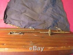 Schoenhut Toys Antique Pond Yacht Boat Bateau À Voile En Bois Maquette De Voilier Yachting