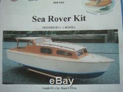 Sea Rover Modèle Bateau Kit Bateau En Bois Modèles Lesro Les Rowell