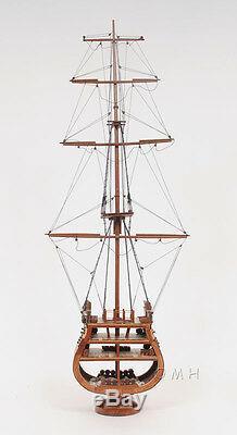 Section Uss Cross Section Tall Ship 34 Maquette De Bateau En Bois Assemblé