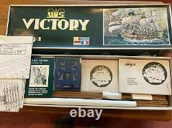 Sergal Hms-victory 178 Planche À L'échelle Modèle De Navire En Bois Sur Cadre