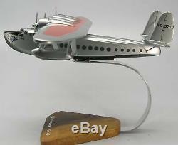 Sikorsky S42 Flying Boat S42 Avion Bureau En Bois Petit Modèle Livraison Gratuite