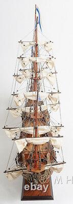 Soleil Royal Wooden Tall Ship Modèle 36 Français Navire De Guerre Entièrement Construit Bateau Neuf