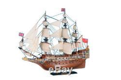 Sovereign Of The Seas 21 Limitée Bois Modèle Bateau Décoratif Grand Modèle De Navire