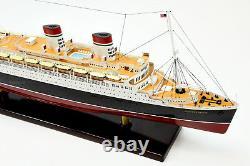 Ss Conte DI Savoia Italian Line Ocean Liner Navire Modèle 32.5 Échelle 1300