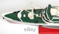 Ss États-unis Bateau De Croisière Ocean Liner 32 Construit En Bois Modèle Bateau Assemblé