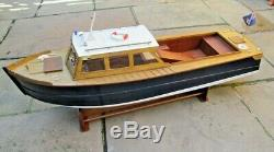 Un Large 36 (police De Lancement) Modèle Bateau Kit (a Phil Smith Original Veron Conception)