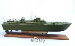 Us Navy Pt 109 33 Dumas Bois Et Modèle En Plastique Boat Kit # 1233 (ce Kit)