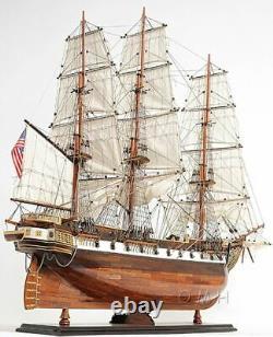 Uss Constellation Frigate Tall Ship 38 Modèle Bois Voilier Assemblé