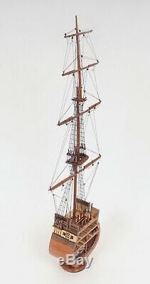 Uss Constitution Coupe Transversale Tall Ship 34 Construit En Bois Modèle Bateau Assemblé