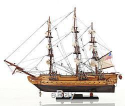 Uss Constitution Modèle Tall Ship En Bois 22 Old Ironsides Bateau Entièrement Assemblé