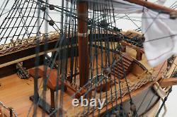 Uss Constitution Old Daciers En Bois Modèle 38 Voilier Bateau Construit