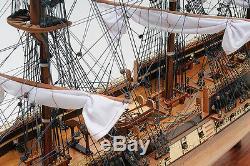 Uss Constitution Old Ironsides Modèle Tall Ship En Bois 38 Voilier Bateau Intégré