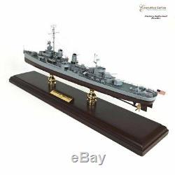 Uss Fletcher Classe Destructeur Seconde Guerre Mondiale Battleship Bois Modèle Bateau Assemblé