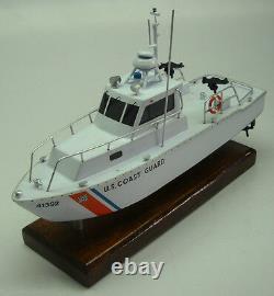 Utb-41 Us Coast Guard Boat Acajou Acajou Kiln Dry Wood Model Grand Nouveau