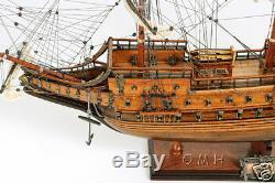 Vasa 1628 Wasa Suédoise En Bois Grand Modèle 38 Bateau Voilier Bateau Nouveau Construit