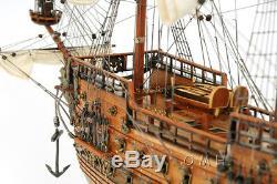 Vasa Suédois Wasa Modèle Tall Ship En Bois 29 Voilier Construit Bateau Nouveau