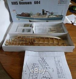 Véritable Kit En Bois Modèle De Bateau Finement Conçu Par Billing Boats Le Renown