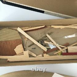 Vintage 40s Original Chris-craft Special Runabout Model Boat W Box By Scientific