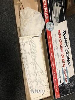 Vintage Dumas Scamp Modèle Kit De Construction 18